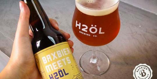 Bax Meets H2ÖL - Cervezas artesanales Valencianas